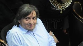 """Máximo Kirchner aseguró que """"hay otro camino"""" al encabezar un homenaje a Néstor Kirchner"""