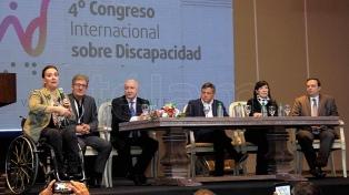 Michetti inauguró el IV Congreso Internacional de Discapacidad