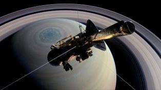 La NASA emitó en directo el final de la Sonda Cassini en la atmósfera de Saturno