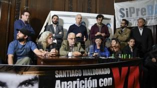 """Sindicatos de prensa denunciaron una """"brutal"""" represión tras la movilización por Santiago Maldonado"""