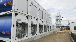 Se puso en marcha la central termoeléctrica Anchoris