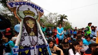 Avanza con paso intenso la peregrinación juvenil a Itatí, Corrientes
