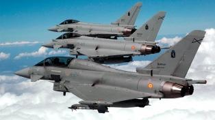 El Gobierno qatarí acordó la compra de 24 aviones de combate al Reino Unido