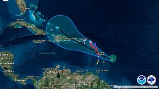 El huracán María subió a categoría 3 y se acerca a las Antillas Menores