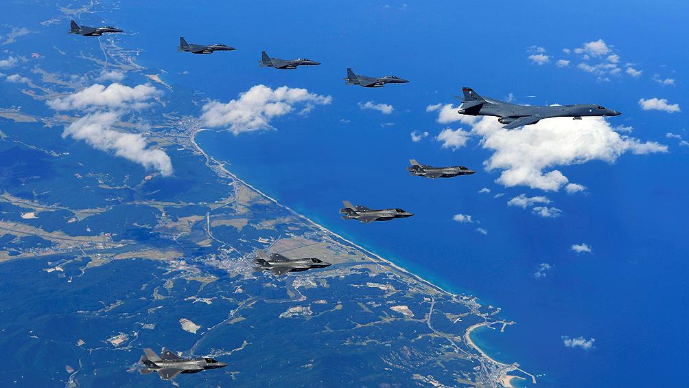 Insisten en mantener la vigilancia aérea sobre Corea del Norte