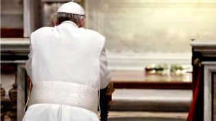 """Francisco pidió """"rezar por los gobernantes"""""""