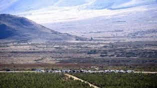 Buscan rastros de Maldonado en un allanamiento a una comunidad mapuche en Cushamen, Chubut