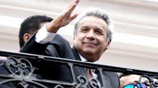Lenín Moreno rechazó la violencia y llamó a la paz