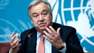 Guterres abandona el país sin un acuerdo, mientras recrudecen los combates