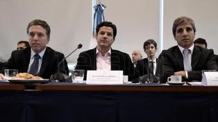 Dujovne y Caputo participan esta semana de la asamblea anual del FMI