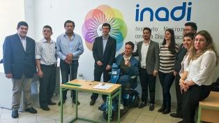 El INADI sumó a 10 personas con discapacidad a su delegación