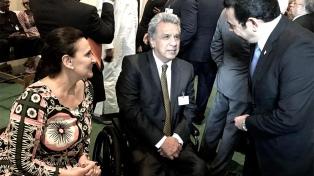 Michetti trató con la primera ministra May políticas contra el trabajo infantil, la esclavitud y el tráfico de personas