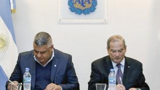 La AFA firmó un convenio de promoción y prevención con el ministerio de Salud