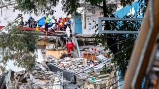 Asciende a 337 la cifra de muertos por el terremoto
