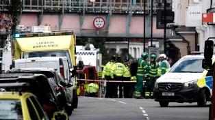 La policía detuvo a un sexto sospechoso por la explosión en el subte de Londres