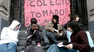 Los estudiantes porteños resuelven este jueves si continúan con las tomas