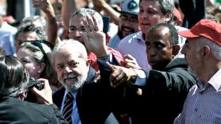 """Lula dijo que si la justicia lo inhabilita como candidato sería """"un fraude"""", una jugada política"""