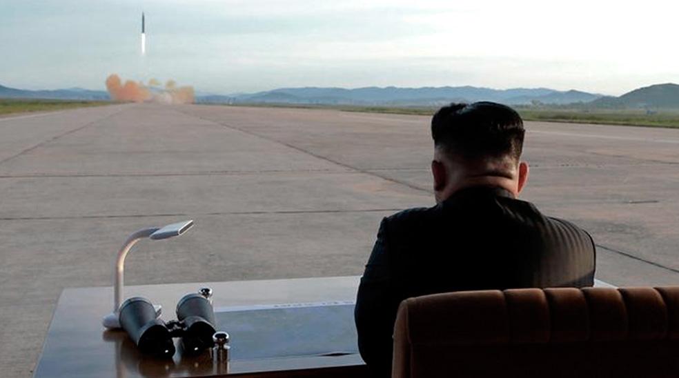 Fotos revelan que el último ensayo militar de Pyongyan fue una prueba de un motor para misiles