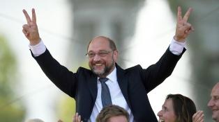 Schulz fue reelegido al frente de los socialdemócratas alemanes