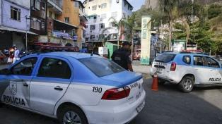 Un tiroteo en una favela obligó a evacuar y cerrar el zoológico de Río de Janeiro