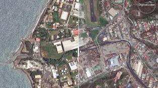 """Recorrido interactivo: el """"antes"""" y """"después"""" del huracán María"""