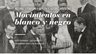Una muestra recorre la historia cultural del ajedrez en la Argentina