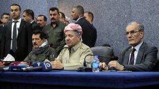 El gobierno kurdo accedió a dialogar con Bagdad, pero exige observadores internacionales