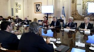 Macri encabezó una reunión de Gabinete y luego, con Vidal, inaugura obra en Villa Fiorito