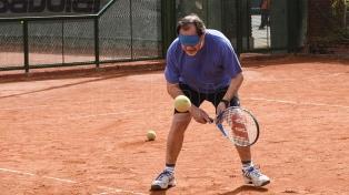 """""""Tenis para ciegos"""", una nueva experiencia para los no videntes"""