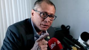 La justicia ecuatoriana le prohibe salir del país al vicepresidente