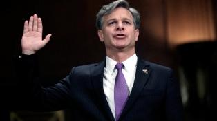 Asumió el nuevo director del FBI en una ceremonia a la que no asistió Trump