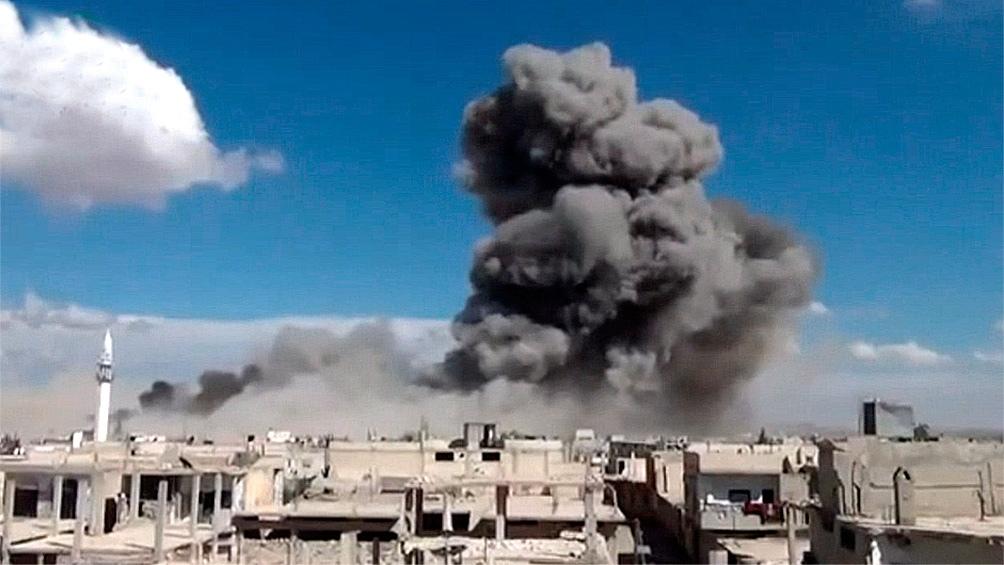 constantes ataques en Siria
