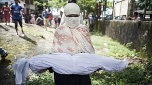 """EE.UU. sancionó al jefe del Ejército de Myanmar por """"limpieza étnica"""""""