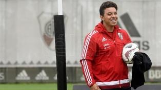 Gallardo espera la recuperación del volante Ignacio Fernández