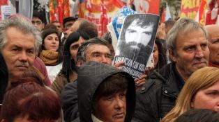 Miles de personas pidieron la aparición con vida de Santiago Maldonado