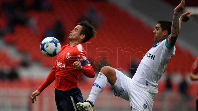 Independiente logró un ajustado pero merecido triunfo ante Vélez Sarsfield