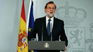 El Gobierno español anunció el inicio del proceso para intervenir en Cataluña