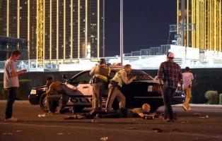 Estupor en EEUU, un francotirador asesina a 59 personas en un recital en Las Vegas