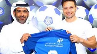 Zárate fue cedido a préstamo por Watford a Al Nasr de Emiratos Árabes