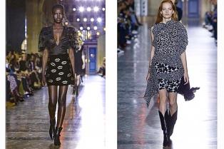 Givenchy seduce y Balenciaga sorprende en la pasarela parisina