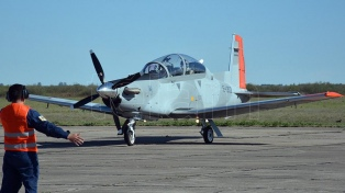 Aguad recibió  cuatro de los doce aviones para entrenamiento de los pilotos