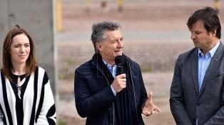 """Macri dijo que no se detendrá """"en el primer éxito"""" que significó la baja de la pobreza"""