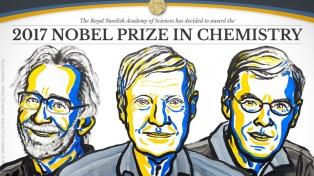 El Nobel de Química 2017 fue para tres investigadores de biomoléculas