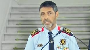 El jefe de la policía catalana y dos líderes independentistas, acusados de sedición