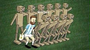 La reacción en Twitter tras el empate de la Selección