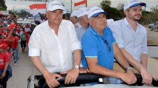Marcos Peña pidió el apoyo a los candidatos de Cambia Jujuy para reafirmar el rumbo
