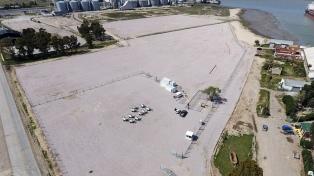 Culminó la obra en la zona franca donde serán recibidos más de 300 molinos eólicos