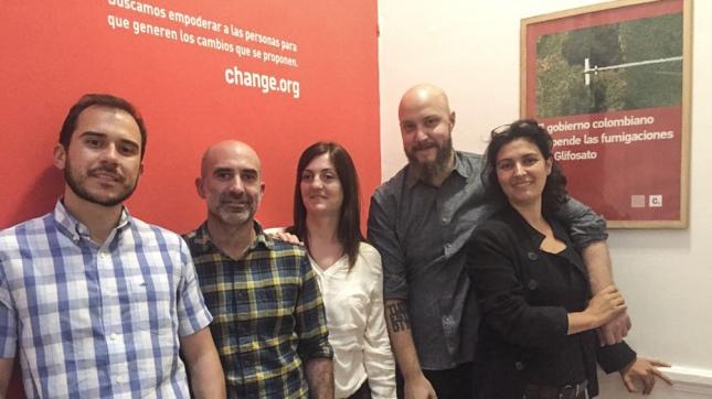 Directores en Latinoamérica de Change.org. Fotografía: Aisha Lebron