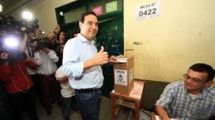 La alianza ECo+Cambiemos se adjudicó la victoria en la elección para gobernador de Corrientes
