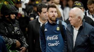 Argentina llegó a Guayaquil para jugarse su penúltima carta mundialista
